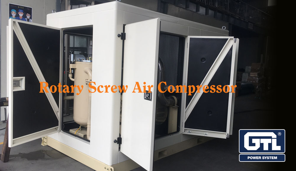 Rotary Screw Air Compressor shipped to Cambodia today